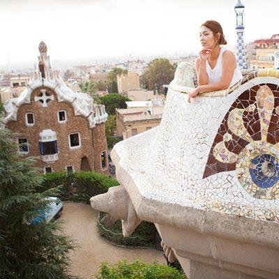 Park Guell PhotoShoot Barcelona Pickapictour